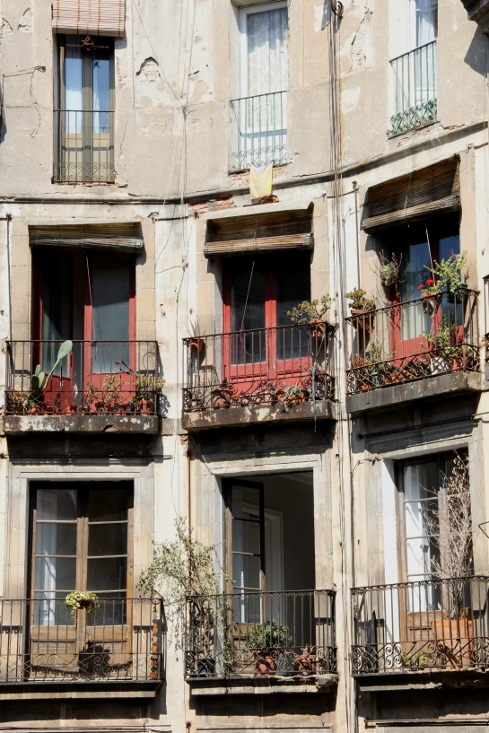 Carrer de Milans, Barrio Gotic